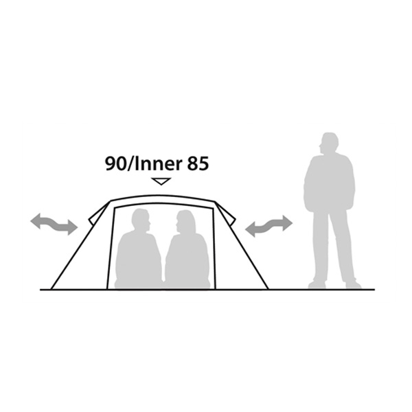 Треккинговая палатка Robens Verve