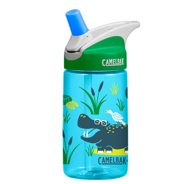 Детская бутылочка для воды Camelbak Eddy 0.4L Hip Hippos