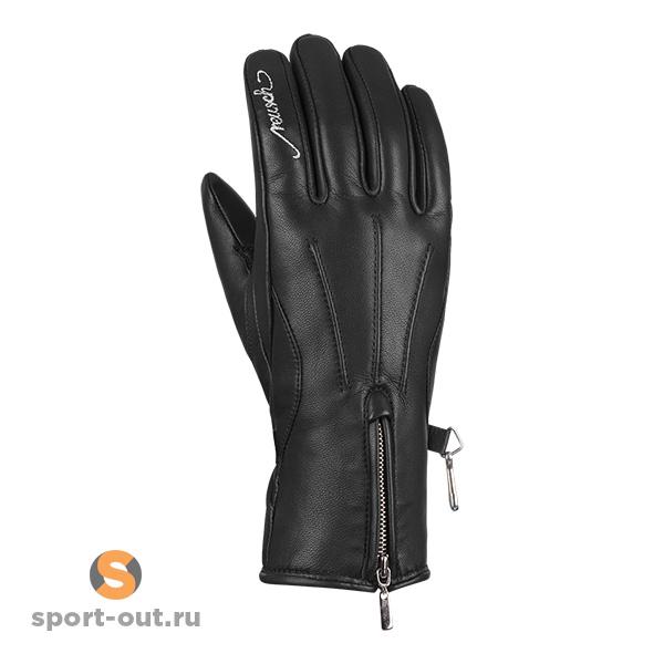 Кожаные женские горнолыжные перчатки Reusch Celine